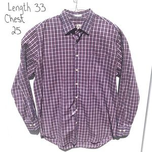 Peter Millar Large Purple L/S Button Down Shirt